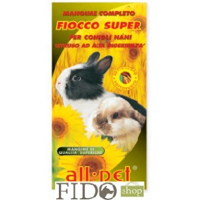 All Pet Fiocco Super Estruso ad Alta Digeribilità Conigli Nani Adulti 400gr