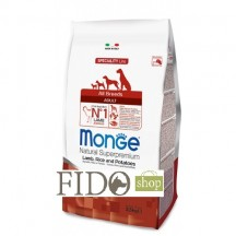 Monge Natural Superpremium Adult All breeds Agnello, Riso e Patate 2,5Kg