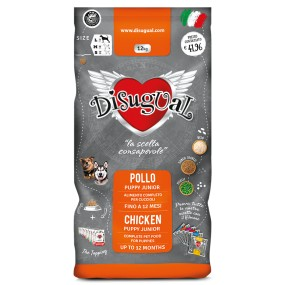 Disugual Monoproteico Puppy Pollo Medium 12Kg