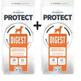 FLATAZOR PRO NUTRITION PROTECT DIGEST DOG 2X12KG
