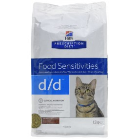 Hill's Prescription Diet D/D 1,5Kg Feline Cervo e Piselli