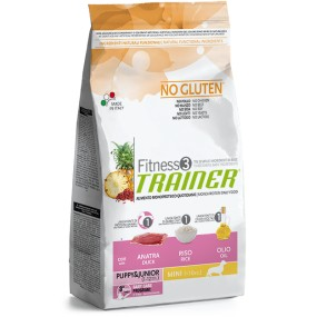 Trainer Fitness 3 Puppy & Junior Mini Anatra no Gluten 2Kg