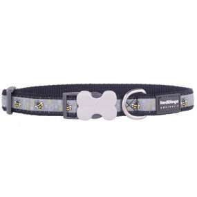 RED DINGO BUMBLE BEE COLLAR DOG ADJUSTABLE S