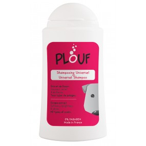 Biogance Plouf Shampoo Cane Dog Universal Coat Shampoo with Natural Grape Extract, 200 ml
