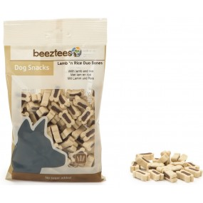Beeztees Snack Lamb'n rice duo bones 150gr