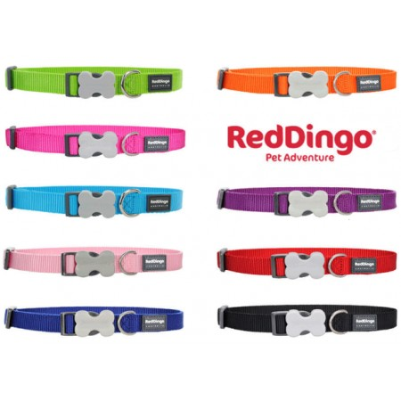 RED DINGO COLLARE REGOLABILE S